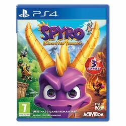 Spyro Reignited Trilogy [PS4] - BAZÁR (použitý tovar) na progamingshop.sk