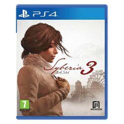 Syberia 3 [PS4] - BAZÁR (použitý tovar) na progamingshop.sk