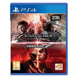 Tekken 7 + SoulCalibur 6 [PS4] - BAZÁR (použitý tovar) na progamingshop.sk