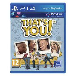 That's You! CZ [PS4] - BAZÁR (použitý tovar) na progamingshop.sk