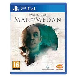 The Dark Pictures Anthology: Man of Medan [PS4] - BAZÁR (použitý tovar) na progamingshop.sk