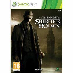 The Testament of Sherlock Holmes na progamingshop.sk