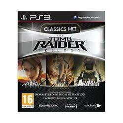 The Tomb Raider Trilogy PS3 - BAZÁR (použitý tovar) na progamingshop.sk