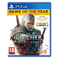 The Witcher 3: Wild Hunt (Game of the Year Edition) [PS4] - BAZÁR (použitý tovar) na progamingshop.sk