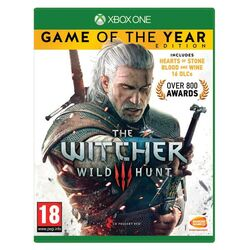 The Witcher 3: Wild Hunt (Game of the Year Edition) [XBOX ONE] - BAZÁR (použitý tovar) na progamingshop.sk