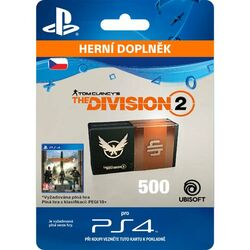 Tom Clancy's The Division 2 (CZ 500 Premium Credits Pack) na pgs.sk