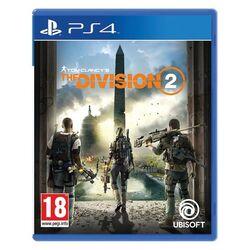 Tom Clancy's The Division 2 CZ [PS4] - BAZÁR (použitý tovar) na pgs.sk