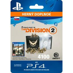 Tom Clancy's The Division 2 (SK 4100 Premium Credits Pack) na pgs.sk