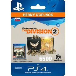Tom Clancy's The Division 2 (SK 6500 Premium Credits Pack) na pgs.sk