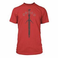 Tričko The Witcher 3 Wild Hunt: Silver Sword S na progamingshop.sk
