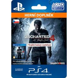 Uncharted 4: A Thief's End CZ (CZ Triple Pack Expansion) na pgs.sk