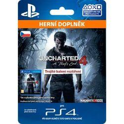 Uncharted 4: A Thief's End CZ (CZ Triple Pack Expansion) na progamingshop.sk