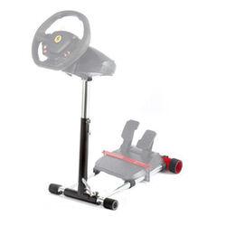 Wheel Stand Pro DELUXE, racing wheel and pedals, black - OPENBOX (rozbalený tovar s plnou zárukou) na progamingshop.sk