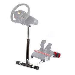 Wheel Stand Pro DELUXE V2, racing wheel and pedals stand for Thrustmaster SPIDER, T80/T100,T150,F458/F430, black na progamingshop.sk