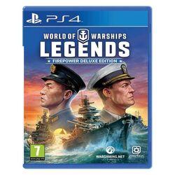 World of Warships: Legends (Firepower Deluxe Edition) [PS4] - BAZÁR (použitý tovar) na progamingshop.sk