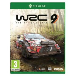 WRC 9: The Official Game [XBOX ONE] - BAZÁR (použitý tovar) na progamingshop.sk