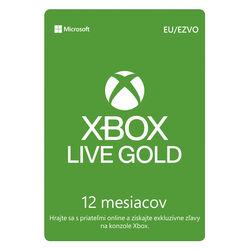 Xbox Live GOLD 12 mesačné predplatné CD-Key na pgs.sk