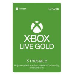 Xbox Live GOLD 3 mesačné predplatné CD-Key na progamingshop.sk