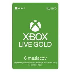Xbox Live GOLD 6 mesačné predplatné CD-Key na progamingshop.sk