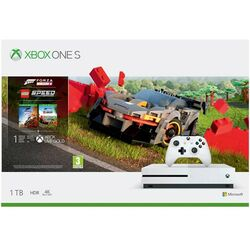 Xbox One S 1TB + Forza Horizon 4 CZ + Forza Horizon 4: LEGO Speed Champions na progamingshop.sk