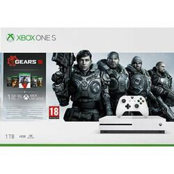 Xbox One S 1TB + Gears 5 + Gears of War 1,2,3,4 na pgs.sk