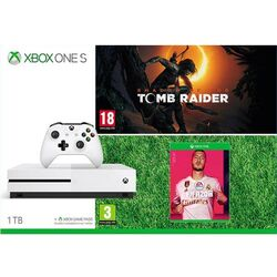 Xbox One S 1TB + Shadow of the Tomb Raider + FIFA 20 CZ na pgs.sk