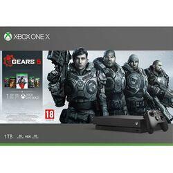 Xbox One X 1TB + Gears 5 + Gears of War 1,2,3,4 na pgs.sk