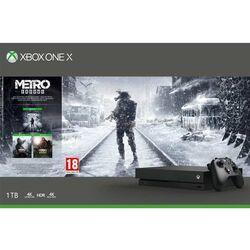 Xbox One X 1TB + Metro Exodus + Metro 2033 Redux + Metro: Last Light Redux na pgs.sk