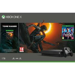 Xbox One X 1TB + Shadow of the Tomb Raider + FIFA 19 CZ na progamingshop.sk