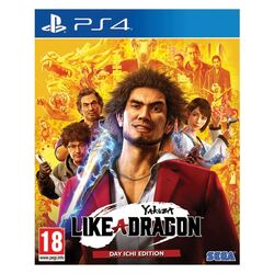 Yakuza: Like a Dragon [PS4] - BAZÁR (použitý tovar) na progamingshop.sk