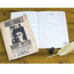 Zápisník Harry Potter 3D Lenticular na progamingshop.sk