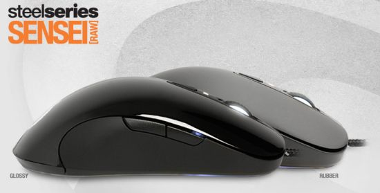 SteelSeries Sensei [RAW] Pro Grade Laser Mouse, glossy black