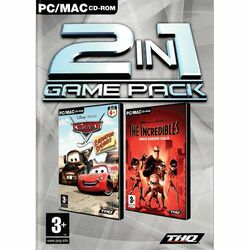2 in 1 Game Pack: Cars: Radiator Springs Adventures + The Incredibles: When Danger Calls