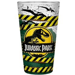 Pohár Danger High Voltage Large Glass (Jurassic Park)