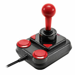 Speedlink Competition Pro Extra USB Joystick for PC, black-red