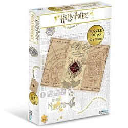 Puzzle Marauder's Map (Harry Potter)