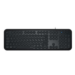 Speedlink Circle Retro Keyboard, black