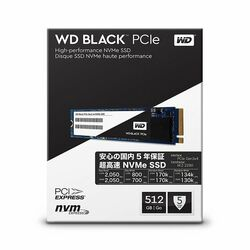 512GB WD Black™ SSD M.2 2280, 2050MB/700MB, 80mm