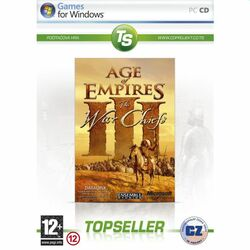 Age of Empires 3: The WarChiefs CZ (TopSeller)