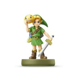 amiibo Zelda Link (The Legend of Zelda Majora's Mask)