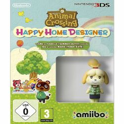 Animal Crossing: Happy Home Designer + amiibo Isabelle (Summer Outfit)
