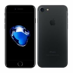Apple iPhone 7, 128GB | Black, Refurbished - záruka 12 mesiacov
