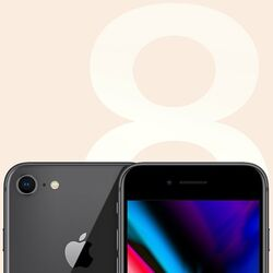 Apple iPhone 8, 64GB, Space Gray
