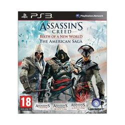 Assassin's Creed: Birth of a New World (The American Saga) [PS3] - BAZÁR (použitý tovar)