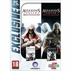 Assassin's Creed: Brotherhood + Assassin's Creed: Revelations na progamingshop.sk