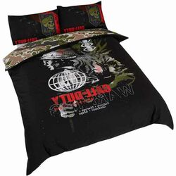 Call Of Duty Warning Double Duvet