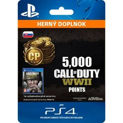 Call of Duty: WW2 Points - 5000 (SK)