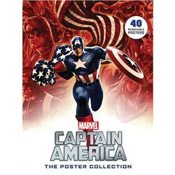 Captain America: The Poster Collection - 40 Removable Posters