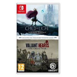 Child of Light (Ultimate Edition) and Valiant Hearts: The Great War (Double Pack)