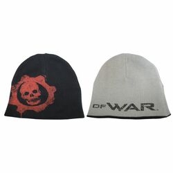 Èiapka Gears of War, black/grey